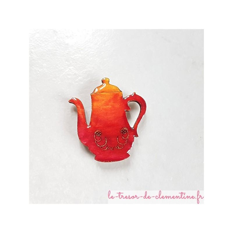 agnet collection cafetière orange à feu un cadeau original et utile Pour que l'on pense à vous tous les jours