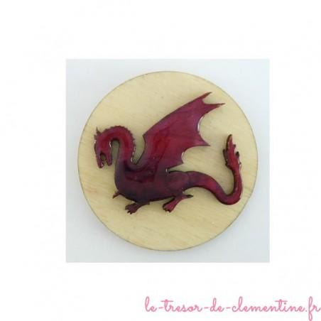 Magnet avec dragon (fantastique)