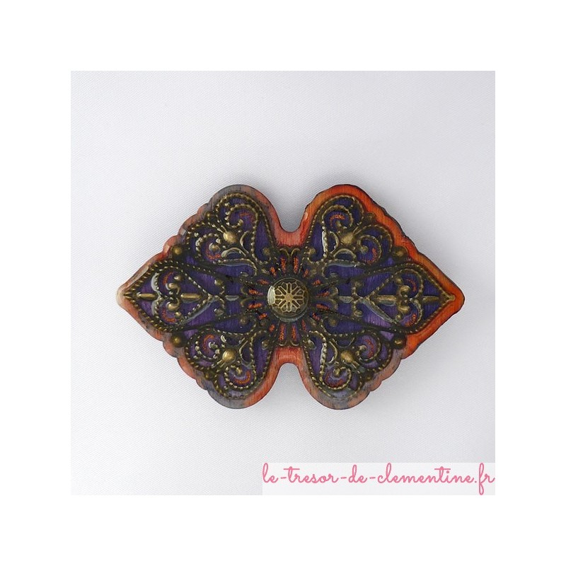 Broches originales Broche style baroque ou mediéval