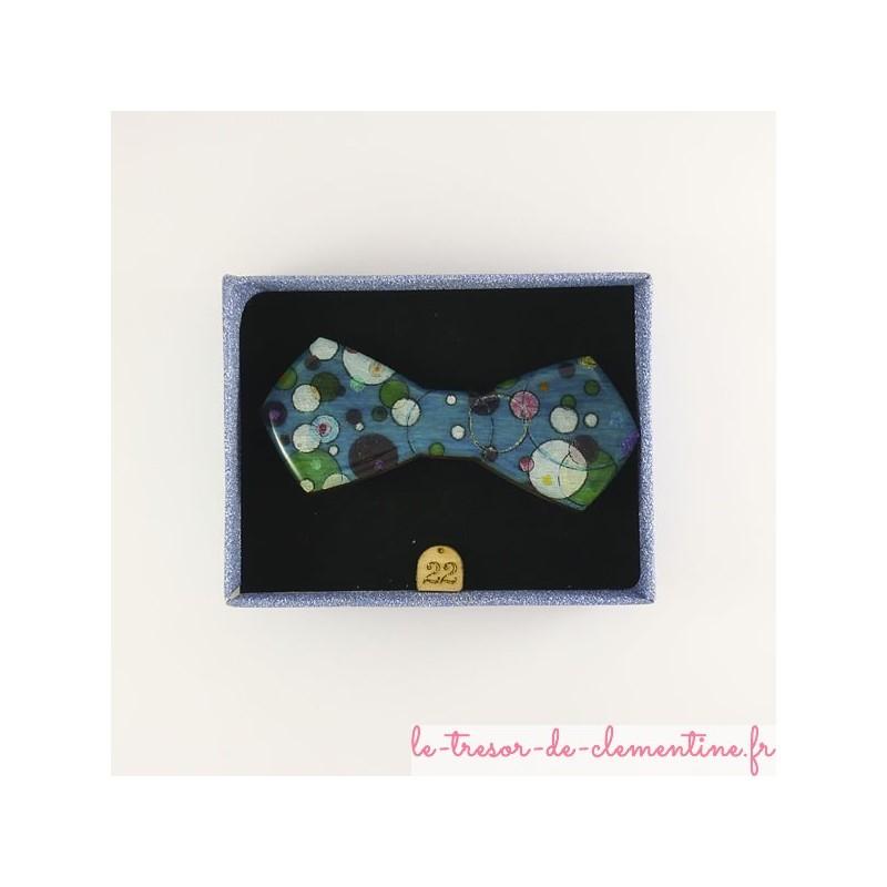 Broche originale style incas turquoise