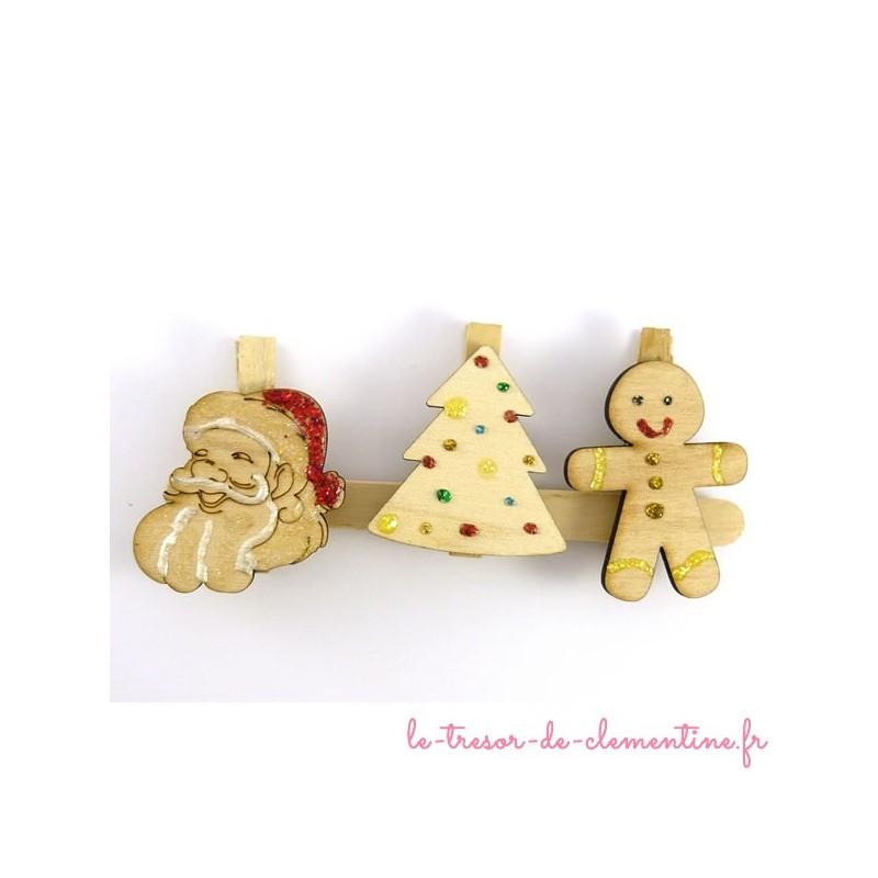 3 marque-places de Noël -grand  ensemble numéro 2