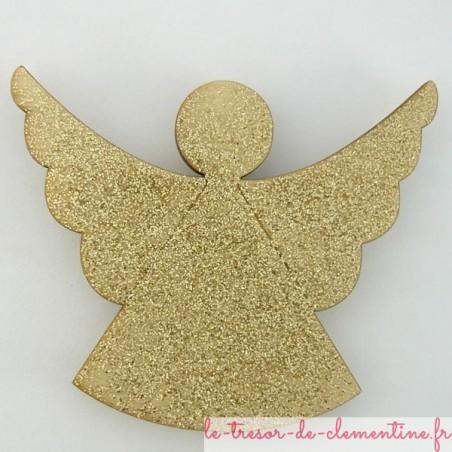 Magnet Ange doré pailleté