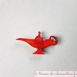 Magnet forme lampe d'aladin rouge