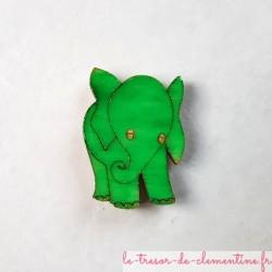 Magnet de collection éléphant bleu cadeau pratique et utile